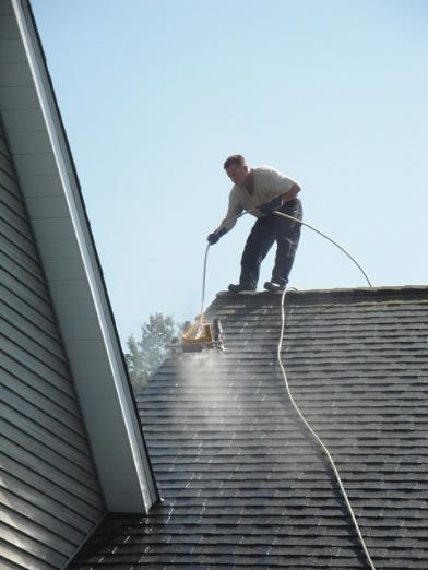 Erie Pa Roof Stain Cleaning